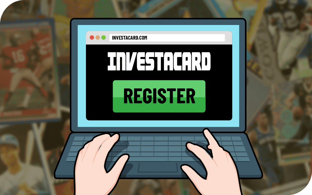 image of investacard registration page on computer 1024 x 640